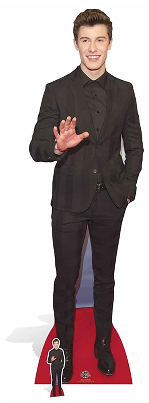 Prominente Star VIP 185 cm empireposter Mendes Suit Shawn Pappaufsteller Standy