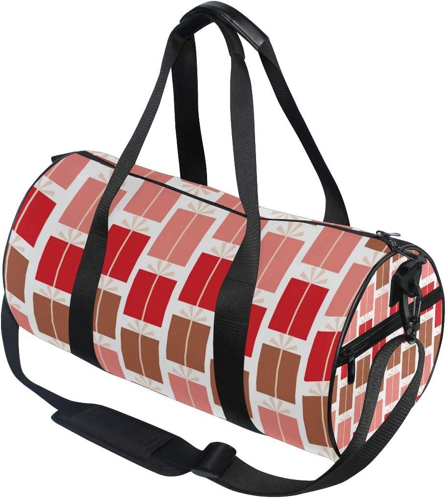 MALPLENA Holiday Presents Drum gym duffel bag women Travel Bag