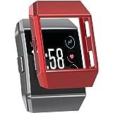 SnowCinda Coque de Protection pour Fitbit Ionic, Housse en Silicone Crystal TPU Etui Antichoc Resistants aux Rayures pour Remplacement Transparent Sport Accessoires pour Fitbit Ionic Smart Montre