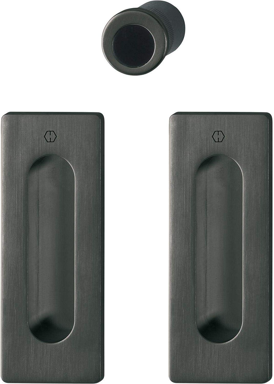 Hoppe 11733238 - Burlete para puerta corredera, color negro: Amazon.es: Bricolaje y herramientas