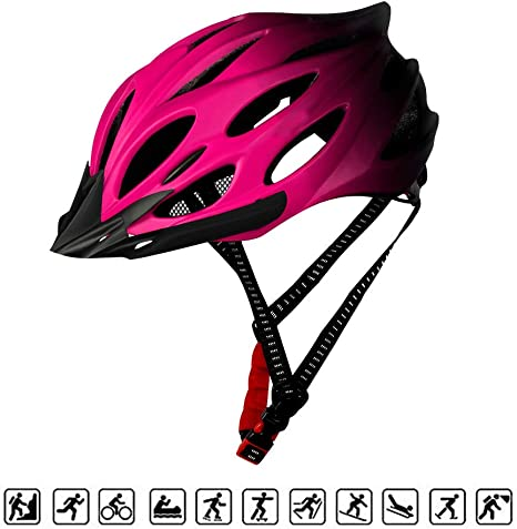 HAMHIN Casco para Bicicleta Unisex/Casco para Bicicleta de Carretera/Casco para Montar al Aire Libre/Casco para Bicicleta de MontañA/Equipo para Montar Bicicleta: Amazon.es: Deportes y aire libre