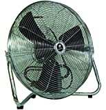 3-Speed Commercial Floor Fan 12 in