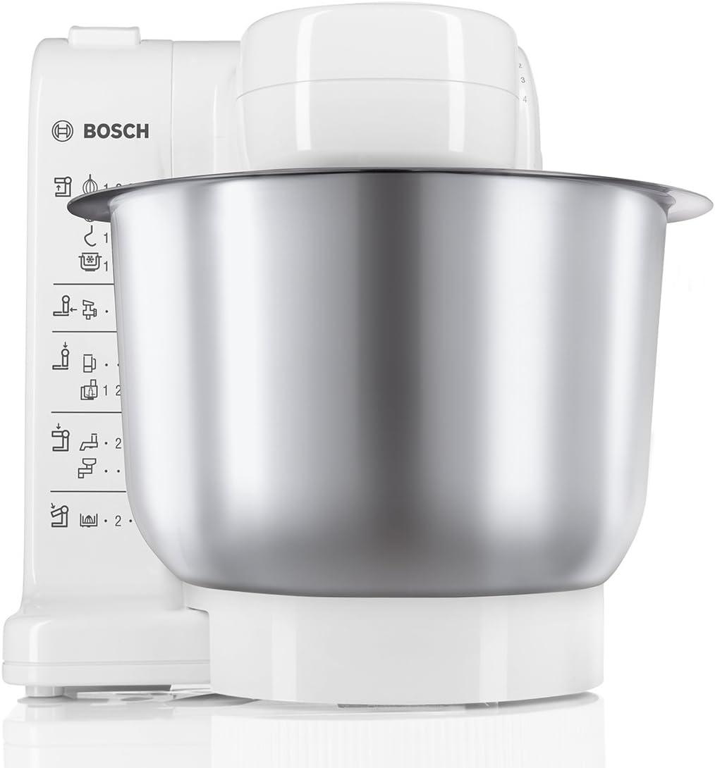 Bosch MUM4407 - Robot de cocina, (capacidad de 3.9 L, 4 ...