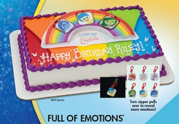 Amazon Disney Pixar Inside Out Full Of Emotions Cake