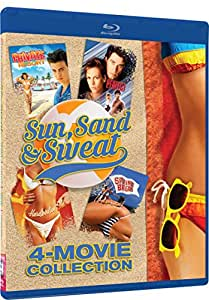 Sun, Sand And Sweat - 4 Movies: Private Resort, Hardbodies, Spring Break, Perfect [Blu-ray]