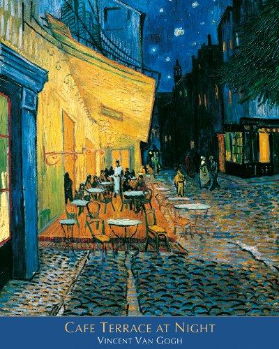 Vincent Van Gogh Cafe Terrace at Night Fine Art Poster Print 16x20 ()