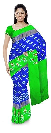 Chennakeshavulu Ikkat Pochampally Silk Saree (Ce16_Multi-Coloured)