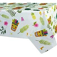 WERNNSAI Mantel de Fiesta Luau Hawaiano - 110