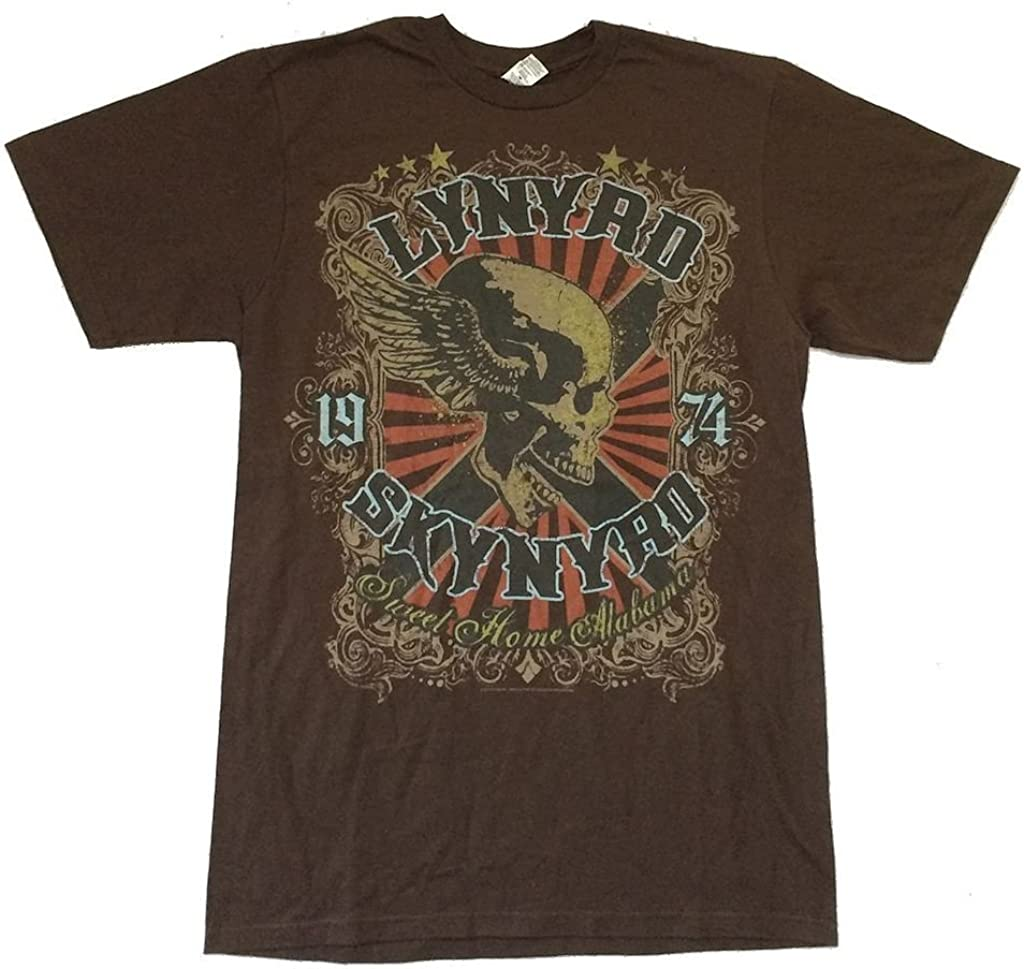 Lynyrd Skynyrd Sweet Home Alabama Brown T Shirt (2X)