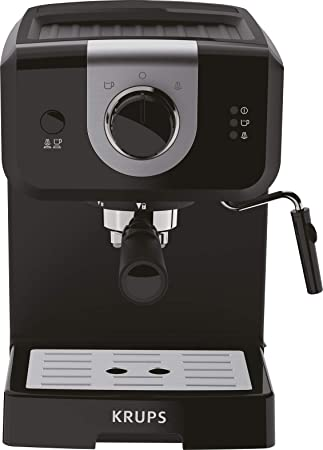 Krups Opio XP320810 - Cafetera express de 15 bares de presión, calentador de taza y