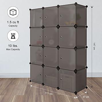 Regalsystem Kleiderschrank langria regalsystem kleiderschrank 12 kubus garderobenschrank für