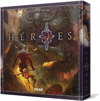 Edge Entertainment Héroes - Juego de Mesa EDGHER01: Amazon.es: Juguetes y juegos