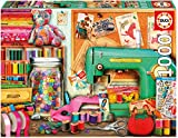 jigsaw puzzles sewing - Educa 1000 Pc Sewing Corner Puzzle