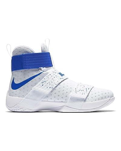 Nike 844374-164, Zapatillas de Baloncesto para Hombre, Blanco Hyper Cobalt/White