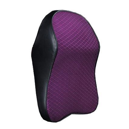 Almohada para el cuello del coche, espuma viscoelástica 3D ...