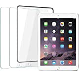 [2 Pack]iPad 6th Generation/iPad 9.7/iPad Air 2/iPad 5/iPad Air Screen Protector,[Easy Installation Frame],Ainope iPad Pro 9.7 in Tempered Glass Screen Protector,Apple Pencil Compatible