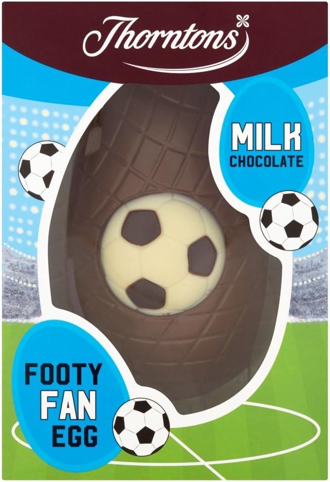 Thorntons Footy Fan Egg Milk Chocolate, 150 g
