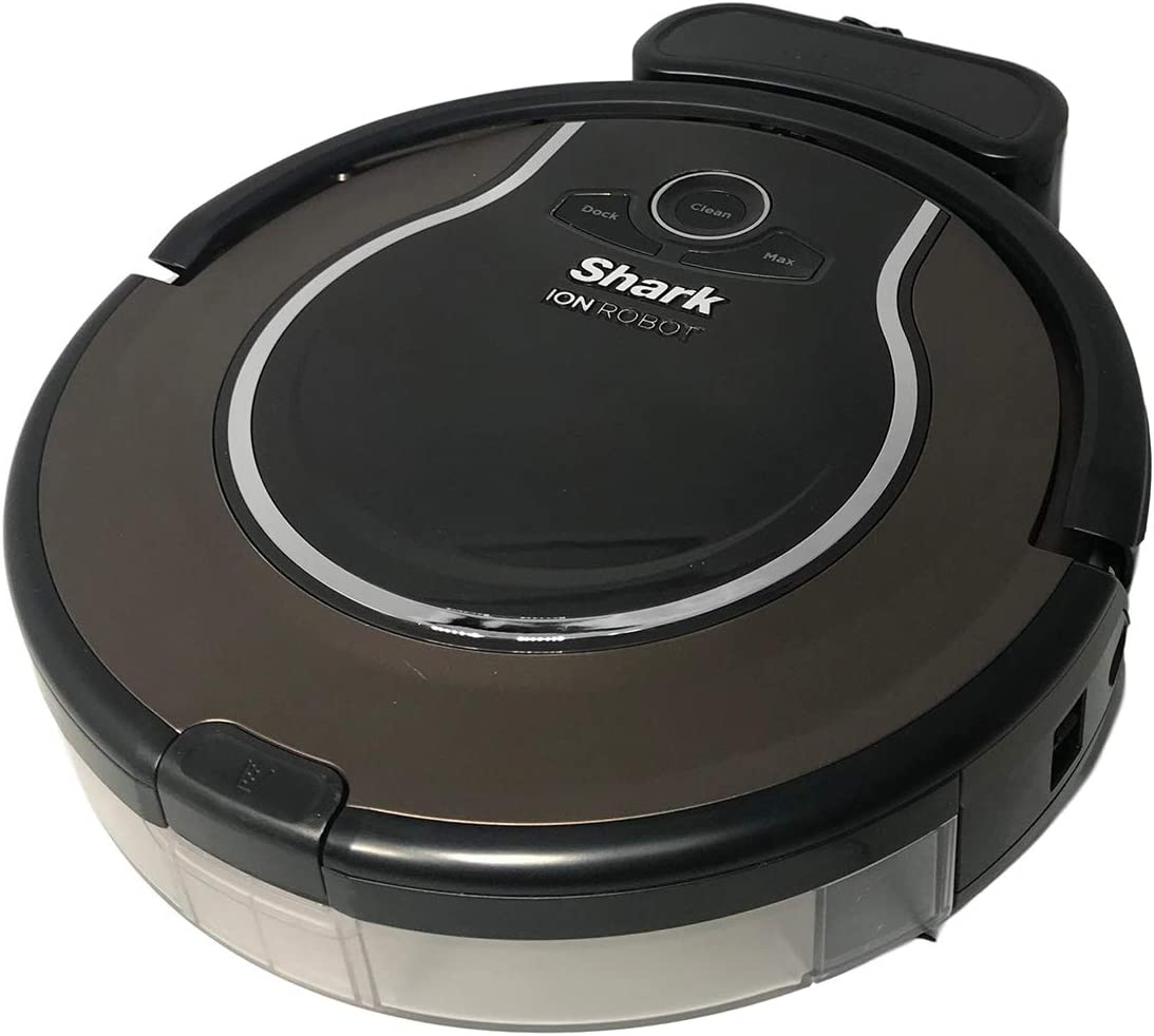 Shark Ion Robot Vacuum Cleaner with Remote Easy Scheduling and Smart Sensor Navigator and Charging Dock RV725N (Renewed)
