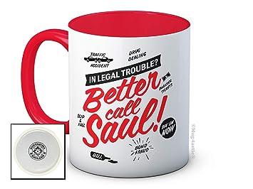 Better Call Saul - Breaking Bad - Taza De Café De Cerámica De Alta Calidad: Amazon.es: Hogar