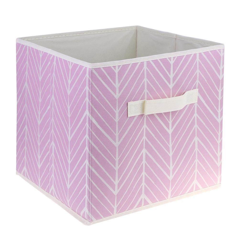 TTnight Storage Bag Storage Basket Office Desktop Organizer Folding Toy Sundries Storage Box