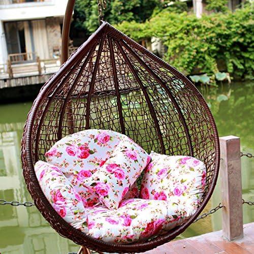 Bajo el árbol de Banyan cesta mimbre silla columpio colgante Balancín Adulto único Lazy interior balcón: Amazon.es: Jardín