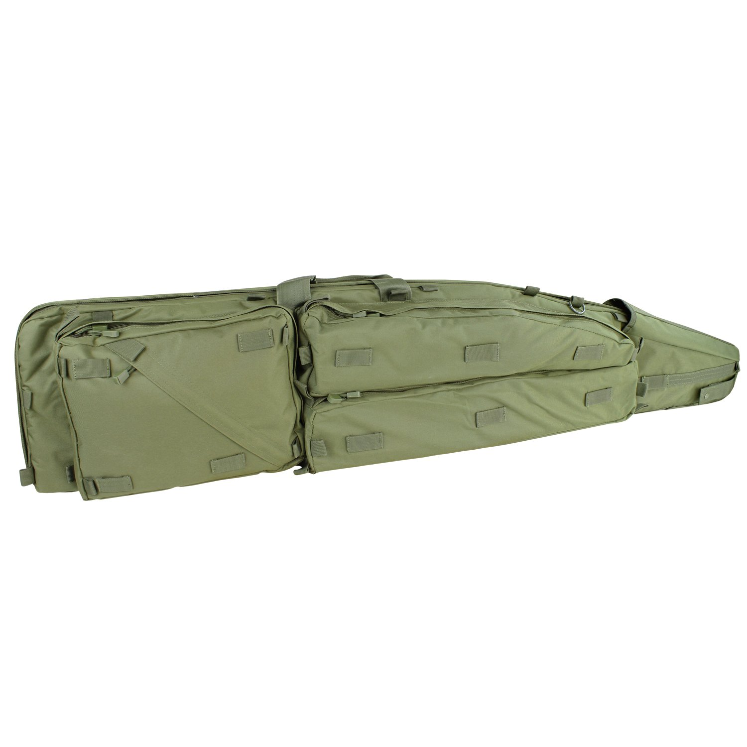 Condor Outdoor 52 Sniper Drag Bag Rifle Case 111107 (Black)
