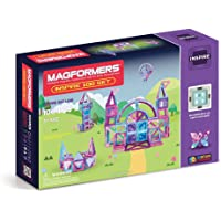 Magformers 63212 Inspire Set (100-pieces) Magnetic Building Blocks, Educational Magnetic Tiles Kit , Magnetic…