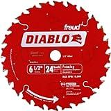 Freud Diablo Framing Saw Blade - 6 1/2In. X 24T, Model# D0624A