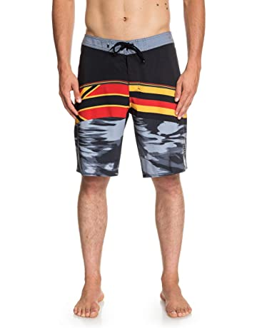 aa606d9a23 Quiksilver Men's Highline Hawaii Serious 20 Boadrshort Swim Trunk