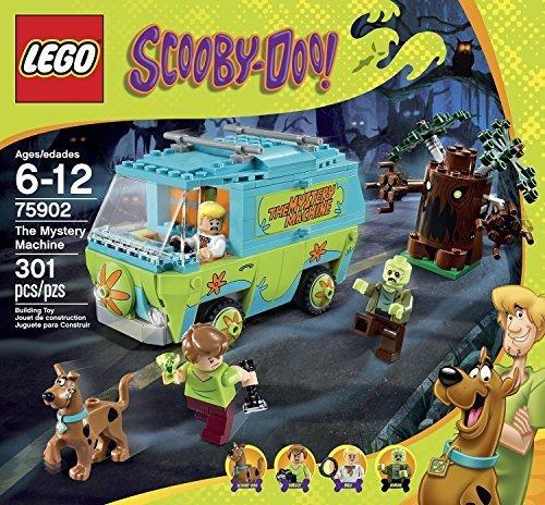Lego Educational Toys Premium Kids Scooby Doo Legos Set Caja creativa con minifiguras para niños de 6 años en adelante