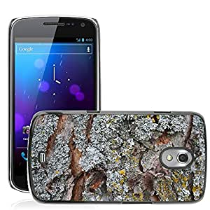 Etui Housse Coque de Protection Cover Rigide pour // M00150510 Corteza de árbol Liquen Naturaleza // Samsung Galaxy Nexus GT-i9250 i9250