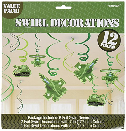 Camouflage Decorative Swirl Value Pack, Party Favor -