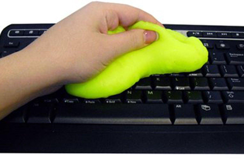 Magic Gel de limpieza masilla coche consola teclado ordenador portátil Super Limpiador polvo, color Random Color: Amazon.es: Oficina y papelería