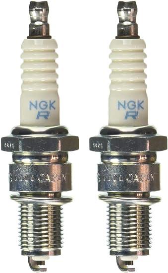 Z/ündkerzen Set NGK 2X BPR7ES f/ür Yamaha XV//XVS