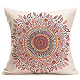 Winhurn Universe Bohemia Pattern Throw Pillow Case Cushion Cover for Bed Home Decor (Style F)