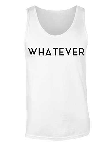 Whatever Single Word Design Camiseta sin mangas para mujer Shirt