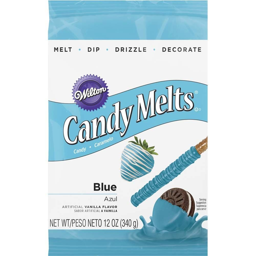 Wilton 1911-1351 Candy Melts, 12-Ounce, Blue