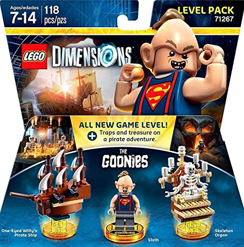 LEGO Dimensions, Goonies Level Pack (Free Fun Pack)