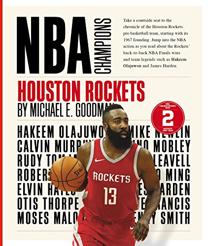 4f5b5ce16008a1 Book Cover of Michael E. Goodman - Houston Rockets (NBA Champions)