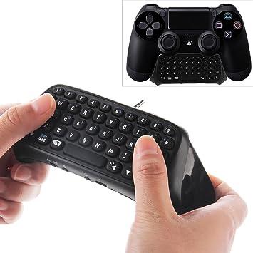 Playstation 4 PS4 Teclado para Controlador Inalámbrico por Bluetooth: Amazon.es: Electrónica