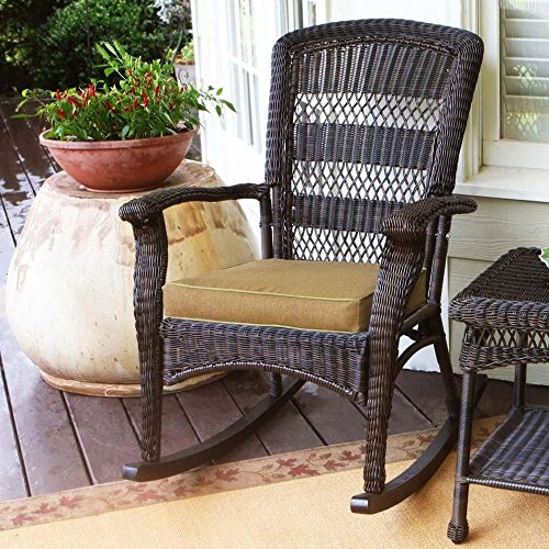 Tortuga Outdoor Plantation Wicker Rocking (Plantation Wicker)
