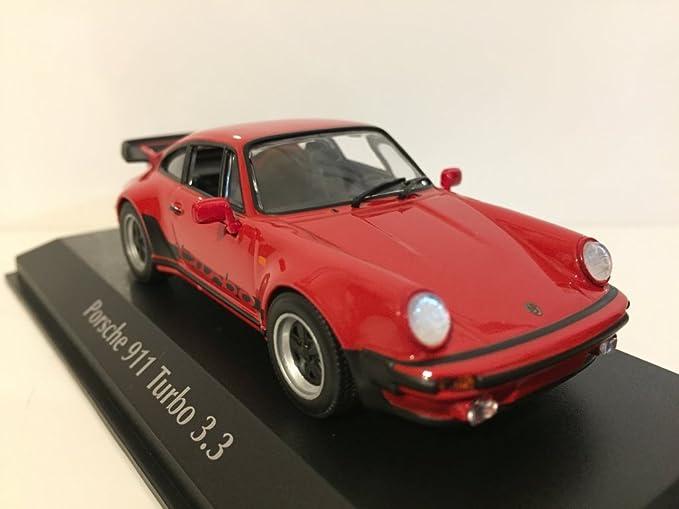 PORSCHE 911 TURBO 3.3 1979 ROT 1//43 MAXICHAMPS 940069000 NEU