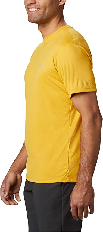 Oferta amazon: Columbia Zero Rules Short Sleeve Shirt Camiseta de manga corta, Hombre Talla XL