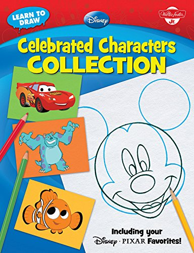 Celebrated Characters Collection: Including your Disney*Pixar Favorites! (Licensed Learn to Draw) ()