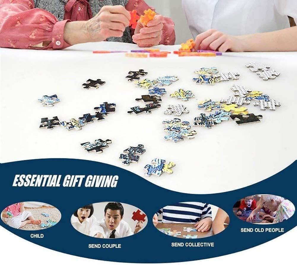1000 Stück Puzzles for Erwachsene Familie, DIY Puzzle-Spiele Lernspielzeug, Eltern-Kind-Spielzeug-Hauptdekoration (Color : DreamWorks) Dream Cafe