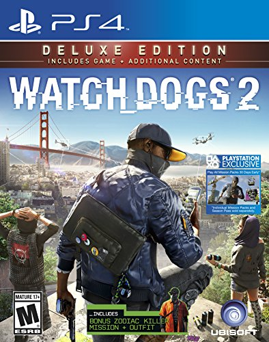 Watch Dogs 2: Deluxe Edition (Includes Extra Content) - PlayStation 4