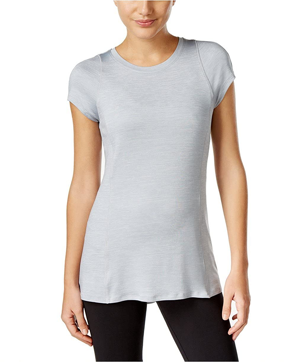 afbfab17 Calvin Klein Performance Women's Pleated-Back Top at Amazon Women's  Clothing store: