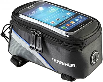 Classic Cycling Bicycle Bike Frame Pannier Front Tube Bags Case For All iPhone