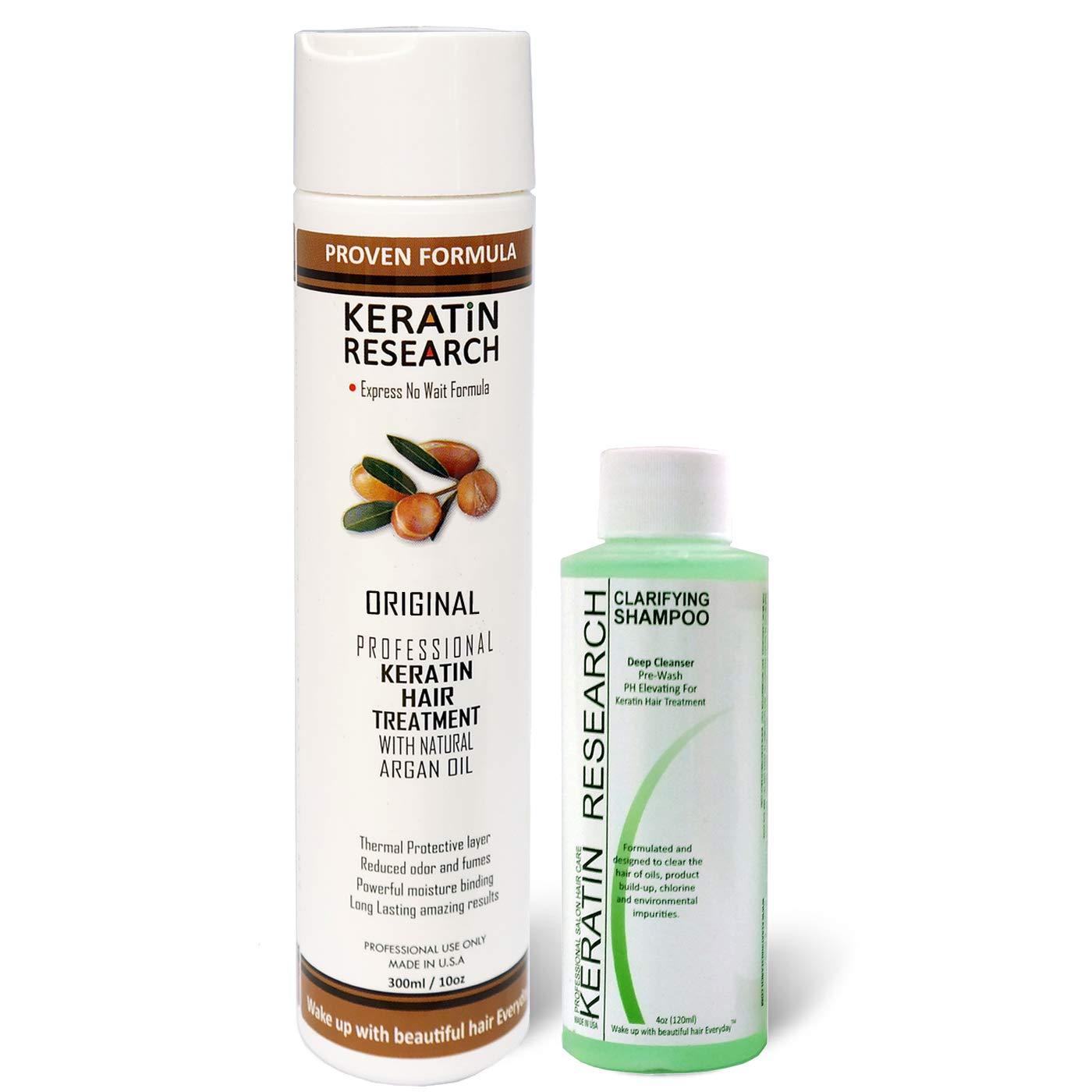Brazilian Professional Keratin Hair Blowout Treatment with Clarifying Shampoo Voted Best By Keratin Research Queratina Keratina Brasilera Tratamiento