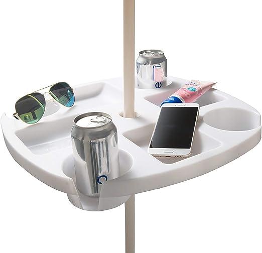 Amazon.com: #WEJOY - Paraguas de playa portátil con bandeja ...
